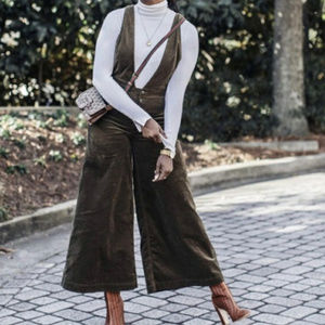 Free People Wide Leg Jumpsuit Overall